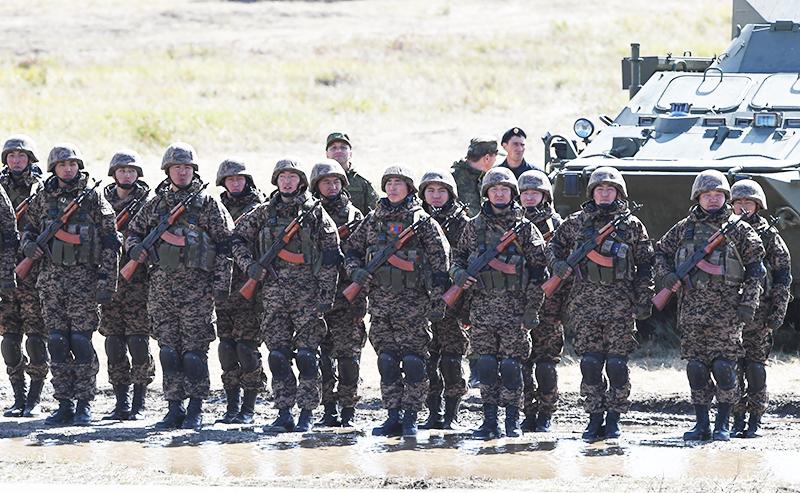 Военные Монголии