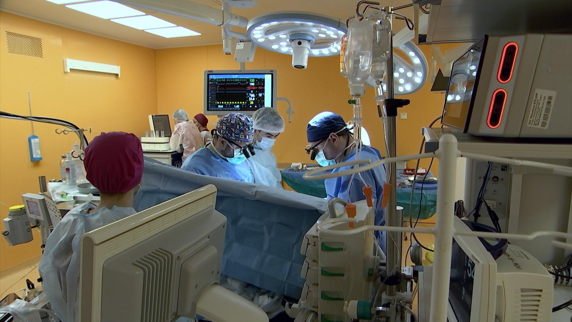 Операция в Морозовской больнице