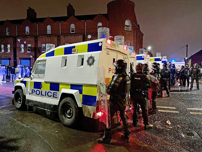 Беспорядки в Ирландии
