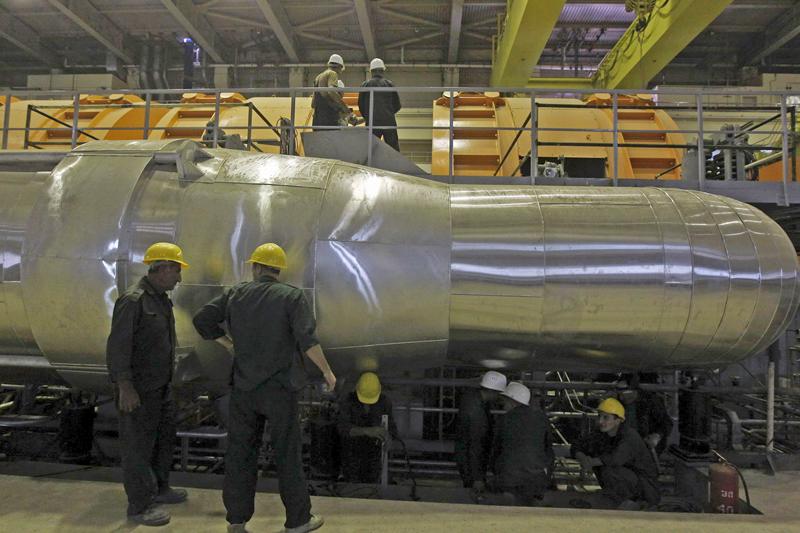 Атомная промышленность в Иране