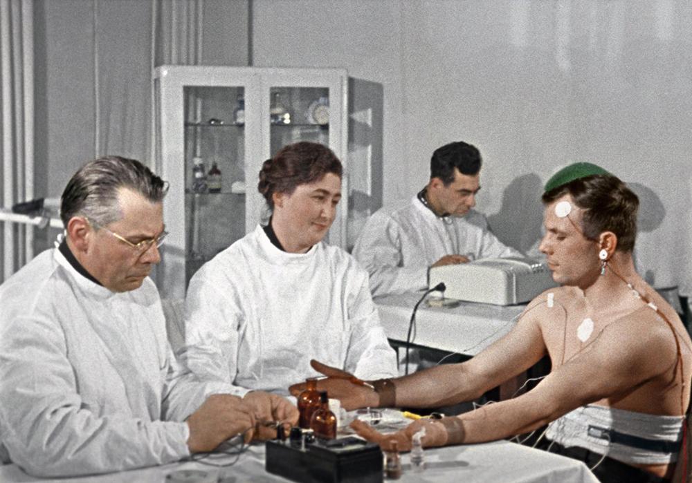 Подготовка Юрия Гагарина