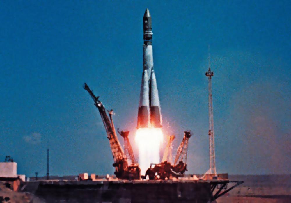 """Старт ракеты """"Восток-1"""""""