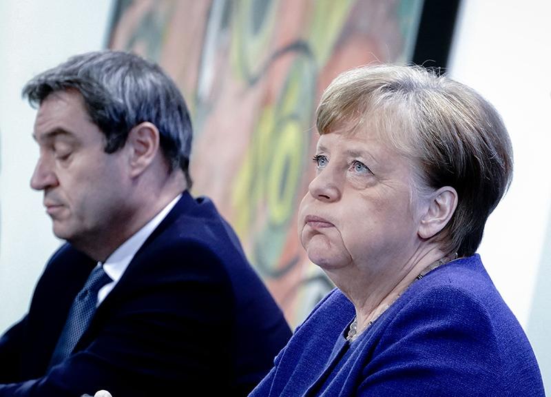 Ангела Меркель и Маркус Зёдер