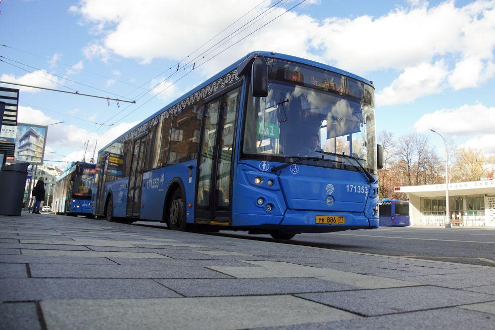 Автобус в Москве