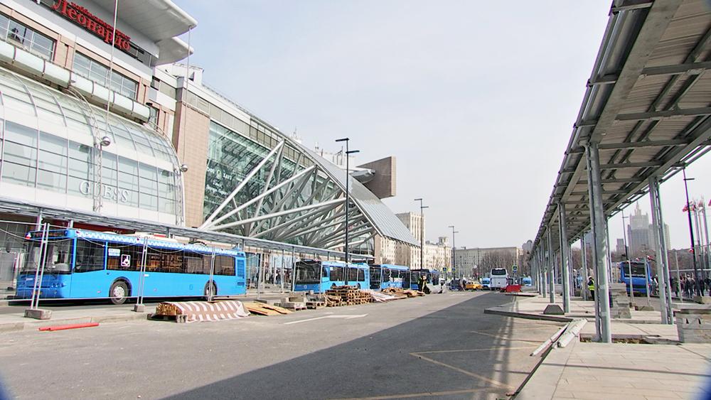 Реконструкция площади Киевского вокзала