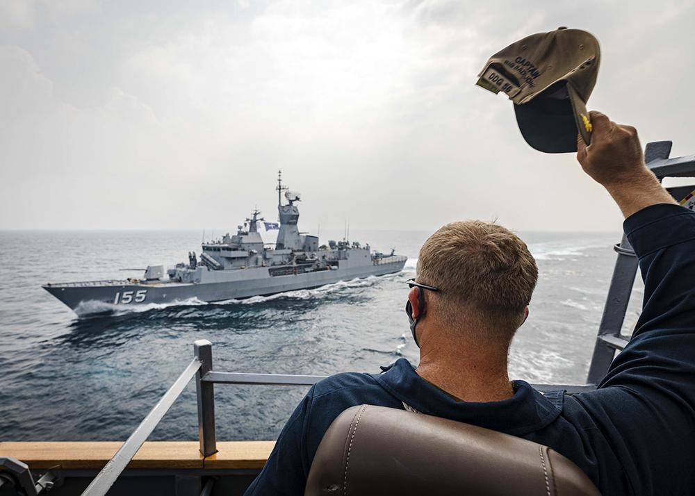 Корабль ВМС США