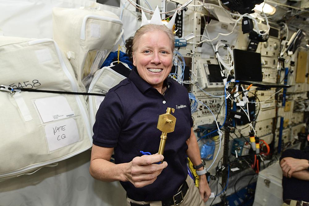 Астронавт NASA Шеннон Уокер