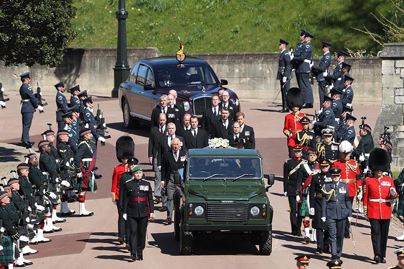 Похороны герцога Эдинбургского Филипа