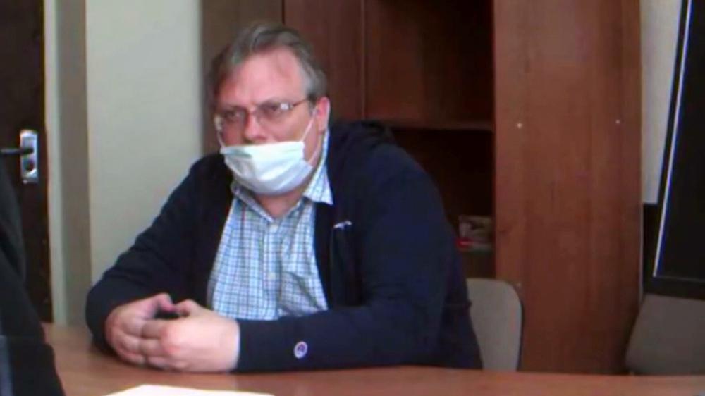 Задержанный по обвинению в подготовке военного переворота в Белоруссии