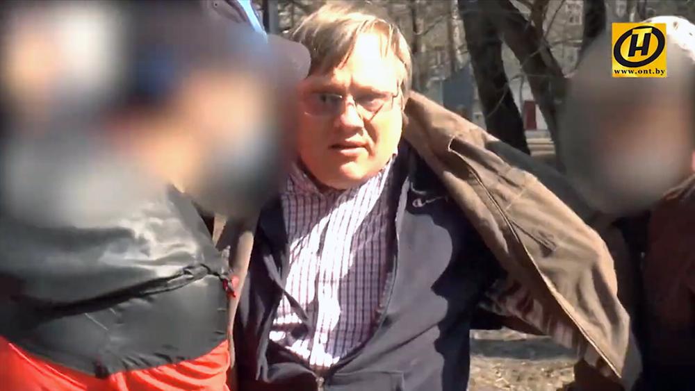 Задержание организаторов переворота в Белоруссии