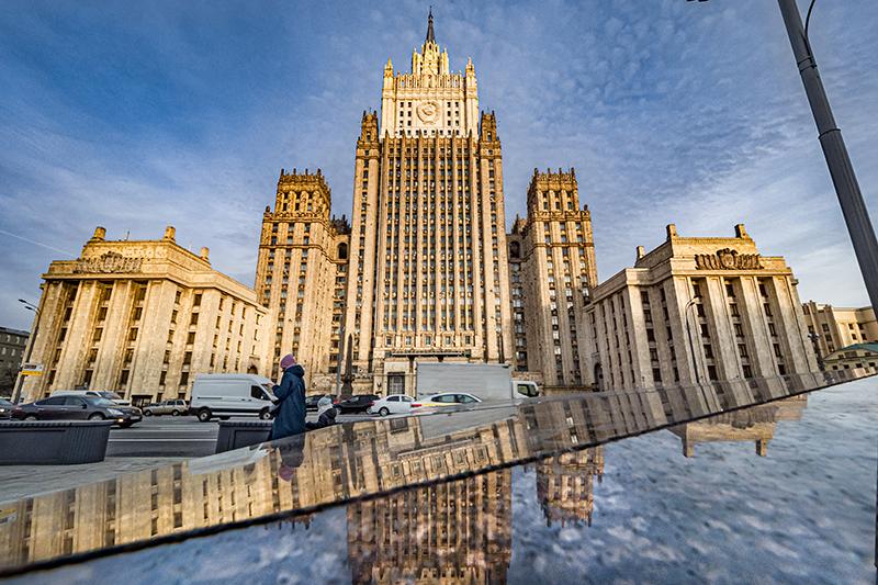 Здание МИД Россиии