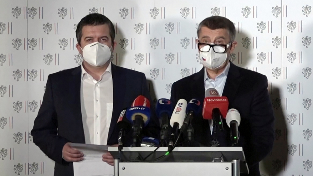 Представители дипкорпуса Чехии