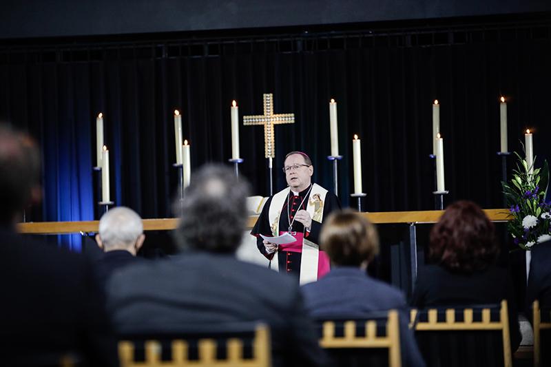 Траурная церемония в память о жертвах коронавируса в Германии