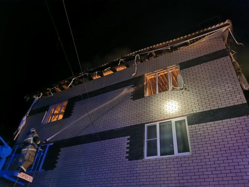 Взрыв газа в жилом доме