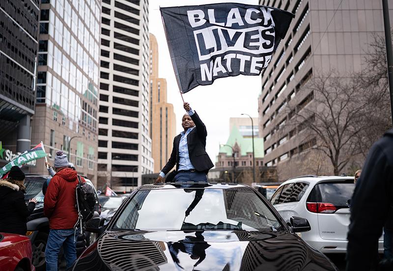 Участники движения Black Lives Matter