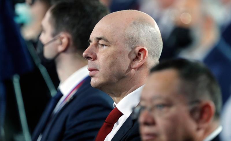 Министр финансов Антон Силуанов во время ежегодного послания Владимира Путина Федеральному Собранию