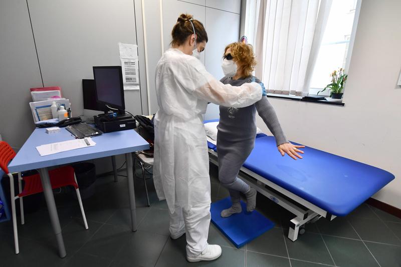Реабилитационная терапия для пациентов, перенесших COVID-19