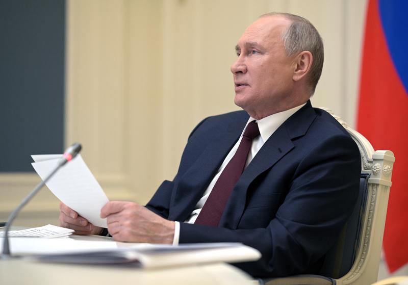 Владимир Путин принимает участие в Саммите лидеров по вопросам климата