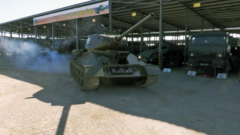 Танк Т-34-85 в Сирии