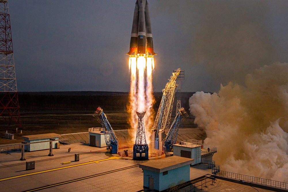 11 Россия успешно вывела на орбиту 36 британских спутников