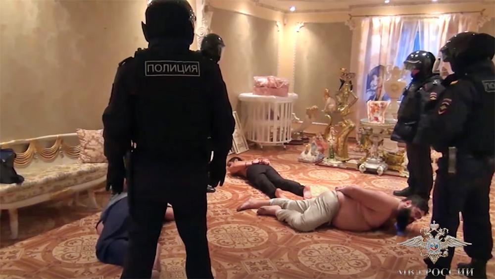 Задержание банды похитителей мобильных телефонов