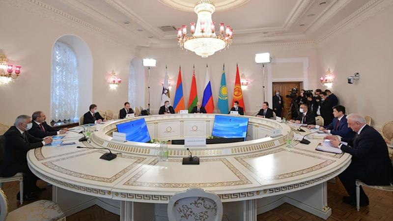 Главы делегаций Евразийского экономического совета стран ЕАЭС