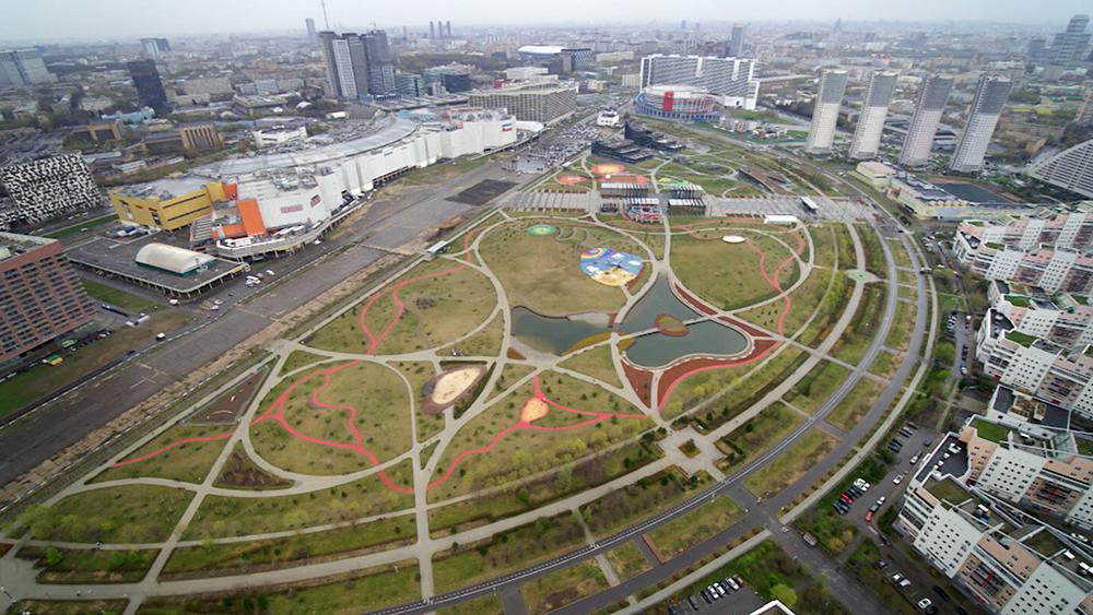 Парк Ходынском поле