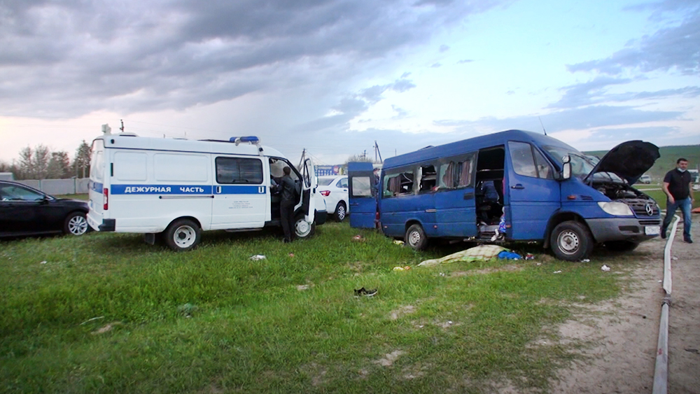 Последствия ДТП на Ставропольском крае