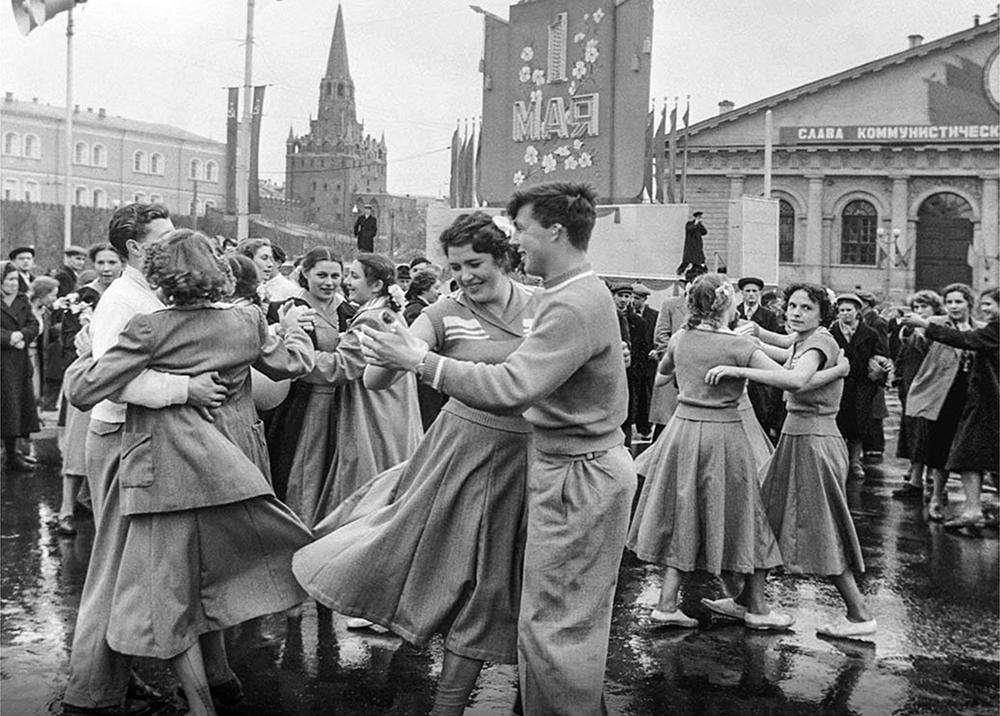 Первомайские гуляния в СССР