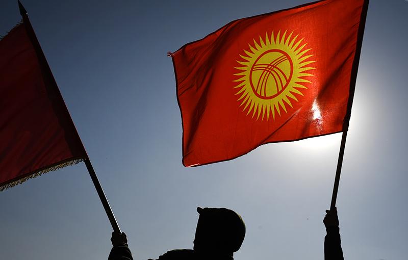 Флаги Киргизии
