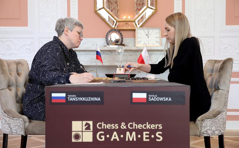 Тамара Тансыккужина (Россия) - Наталья Садовская (Польша)