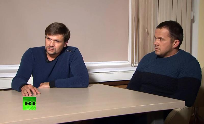 Россияне Руслан Боширов и Александр Петров