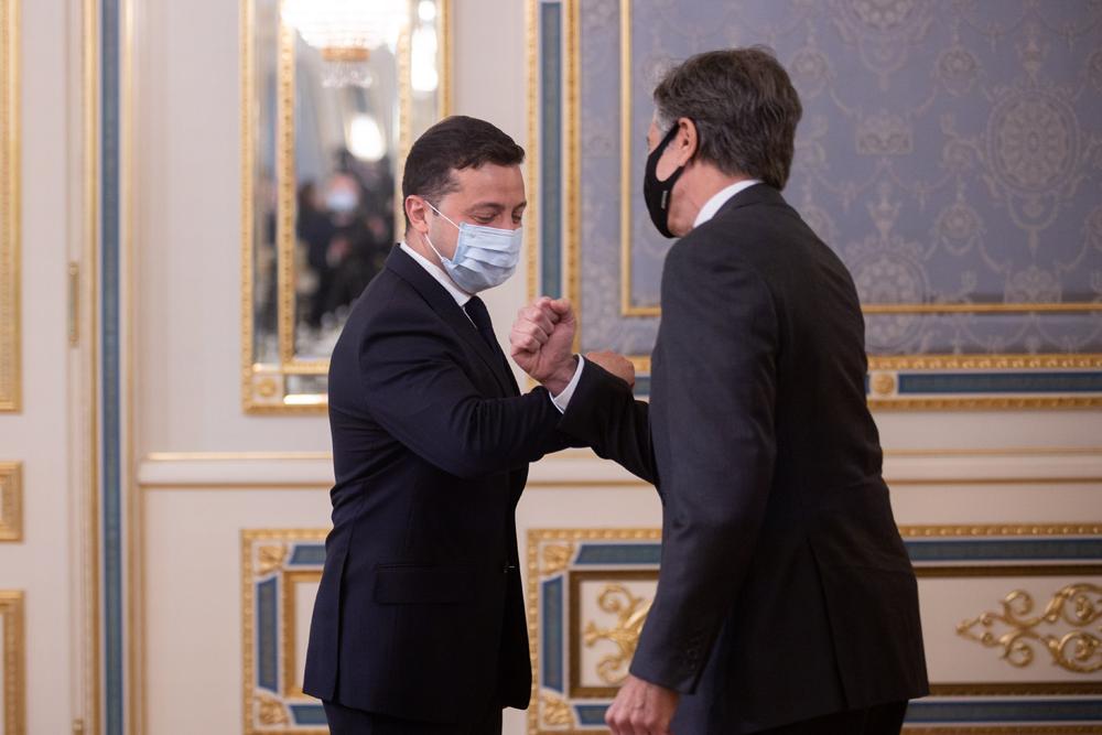 Встреча Президента Украины и Государственного секретаря США