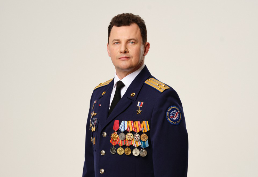 Летчик-космонавт Роман Романенко