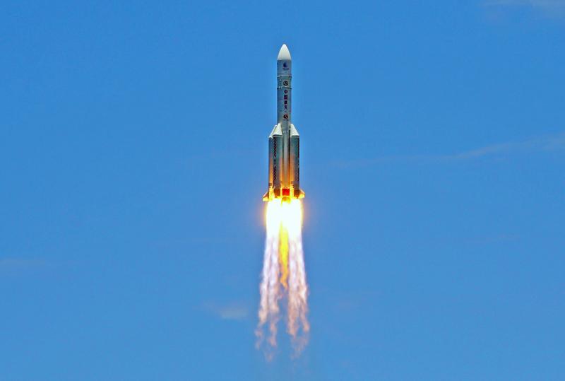 Китайская тяжелая ракета CZ-5