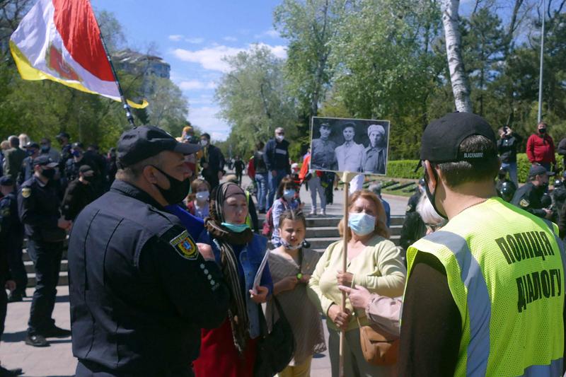 """Акция """"Бессмертный полк"""" в Одессе"""