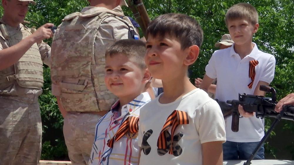 Празднование 9 мая в Сирии
