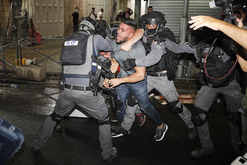 Уличные протесты в Иерусалиме
