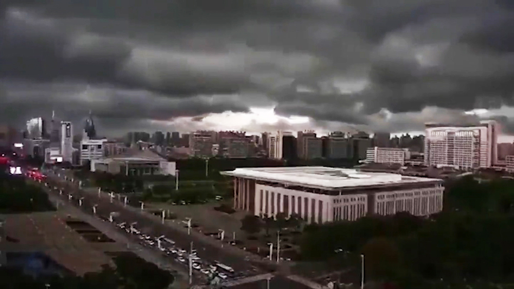 Ураган в Ухани