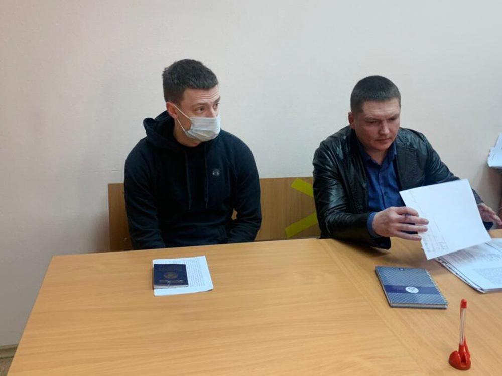 Блогер Андрей Бурим (Mellstroy) в суде