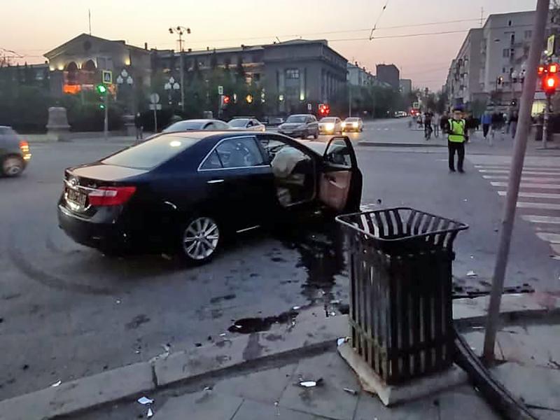 Последствия ДТП в Екатеринбурге