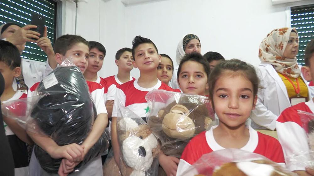 Детский дом в Сирии