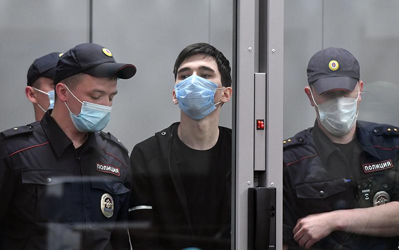 Ильназ Галявиев в суде