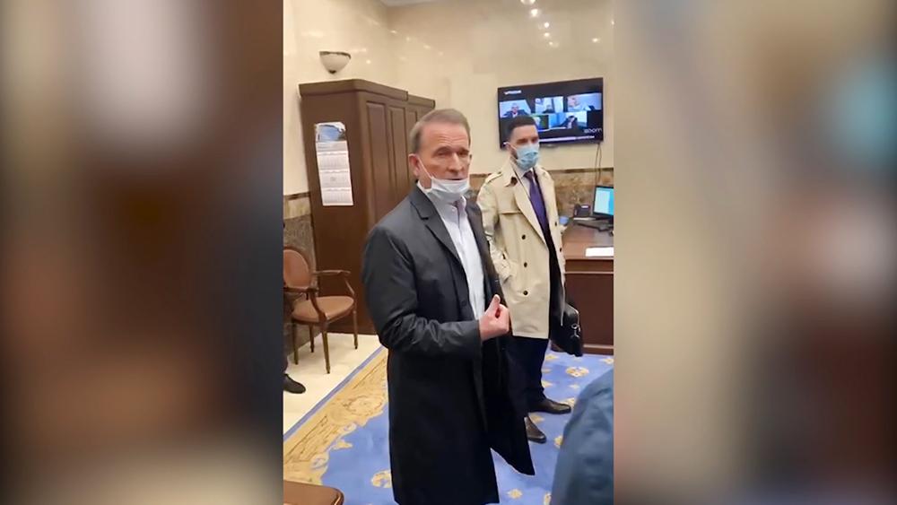 Обыск в офисе Виктора Медведчука