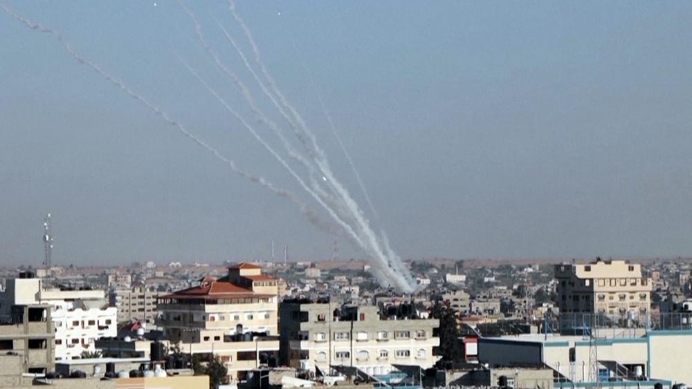 Работа ПВО Израиля
