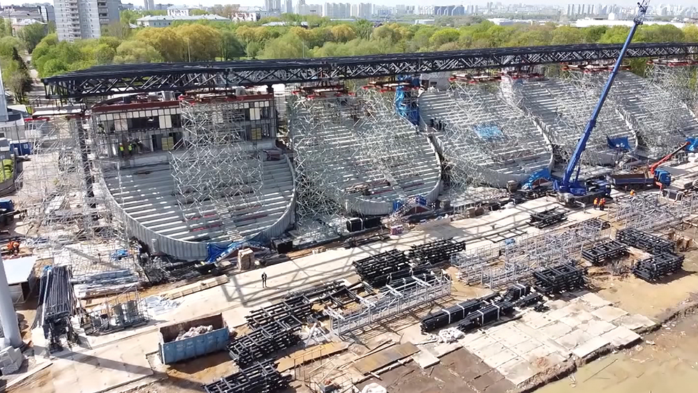 "Реконструкция стадиона ""Москвич"""