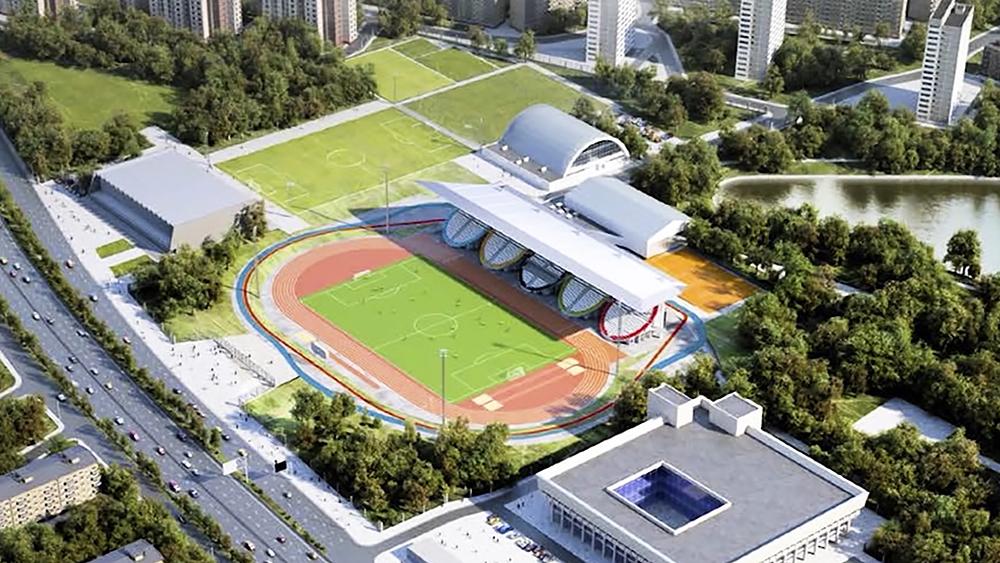 """Проект реконструкции стадиона """"Москвич"""""""