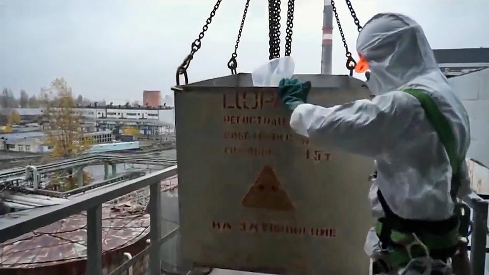 Работы на Чернобыльской АЭС