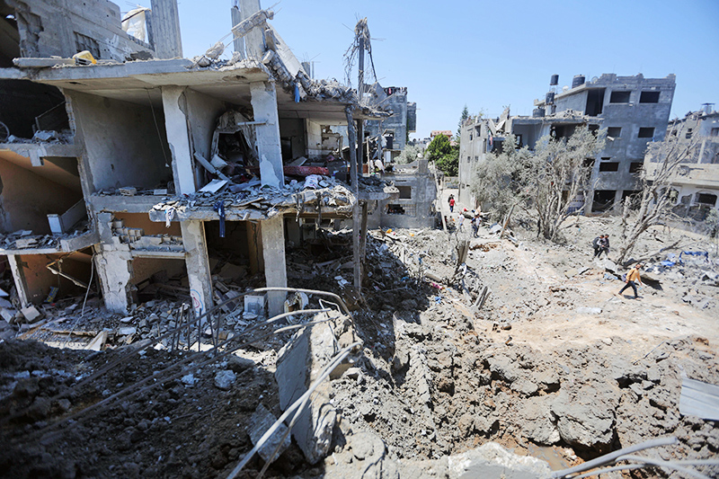 Палестино-израильский конфликт