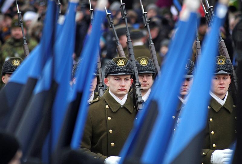 Военный парад в Эстонии